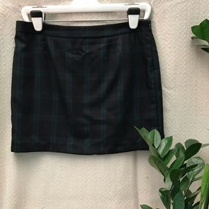 Gap Plaid Mini Skirt NWT